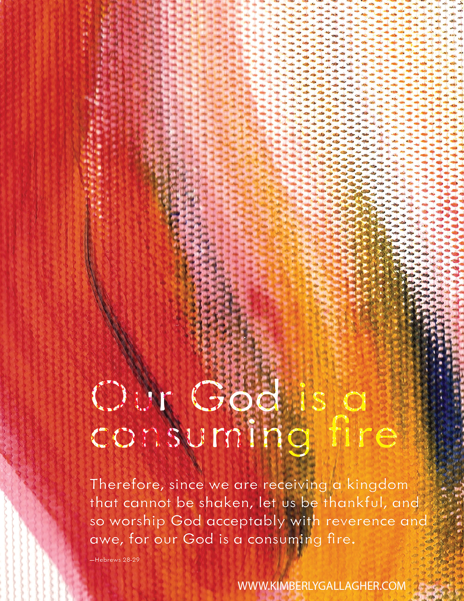 """""""consuming fire"""""""