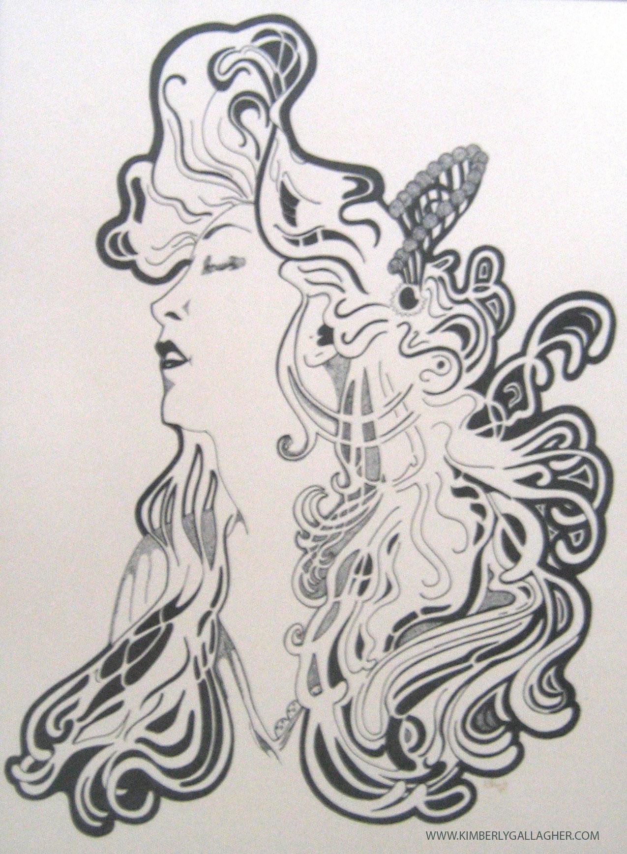fine art   ink